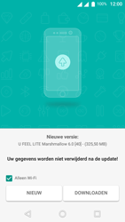 Wiko U-Feel Lite - Netwerk - Software updates installeren - Stap 7