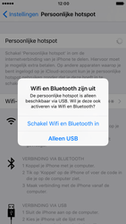 Apple iPhone 6s iOS 10 - WiFi - WiFi hotspot instellen - Stap 10