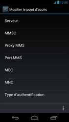 Acer Liquid E1 - Mms - Configuration manuelle - Étape 14