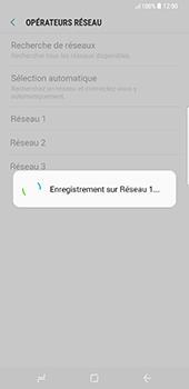 Samsung Galaxy S8 Plus - Réseau - Utilisation à l