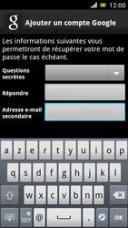 Sony Ericsson Xpéria Arc - Premiers pas - Créer un compte - Étape 20