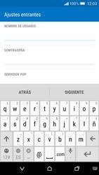 HTC One M9 - E-mail - Configurar correo electrónico - Paso 8