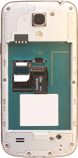 Samsung Galaxy S4 Mini - Primeros pasos - Quitar y colocar la batería - Paso 5