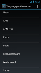 Acer Liquid Z5 - Internet - Handmatig instellen - Stap 13