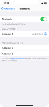 Apple iPhone XS - iOS 13 - Bluetooth - koppelen met ander apparaat - Stap 8