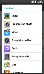 LG F70 - Contact, Appels, SMS/MMS - Envoyer un MMS - Étape 13