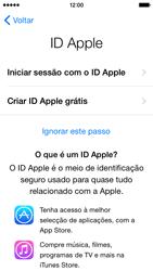 Apple iPhone 5s iOS 8 - Primeiros passos - Como ligar o telemóvel pela primeira vez -  14