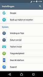 Sony Xperia X Performance (F8131) - Toestel - Fabrieksinstellingen terugzetten - Stap 5