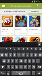Samsung I9500 Galaxy S IV - Aplicativos - Como baixar aplicativos - Etapa 13