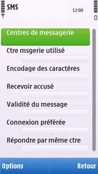 Nokia C6-00 - SMS - configuration manuelle - Étape 6