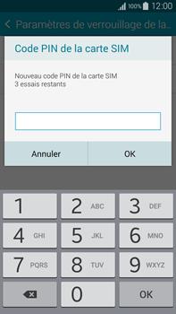 Samsung Galaxy Note 4 - Sécuriser votre mobile - Personnaliser le code PIN de votre carte SIM - Étape 8