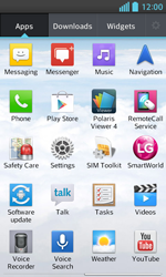 LG E460 Optimus L5 II - Mms - Sending a picture message - Step 2