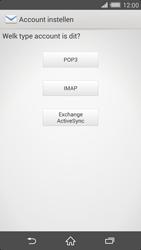 Sony D6503 Xperia Z2 - E-mail - e-mail instellen: IMAP (aanbevolen) - Stap 7