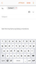 Samsung A320 Galaxy A3 (2017) - Email - Sending an email message - Step 9