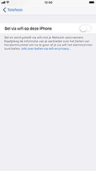 Apple iPhone 6 Plus - iOS 11 - Bellen - bellen via wifi (VoWifi) - Stap 5