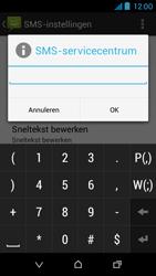 HTC Desire 310 - SMS - Handmatig instellen - Stap 10