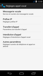 Acer Liquid Jade S - Messagerie vocale - configuration manuelle - Étape 7