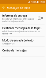 Samsung Galaxy J1 (2016) (J120) - Mensajería - Configurar el equipo para mensajes de texto - Paso 10