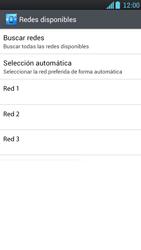 LG Optimus L9 - Red - Seleccionar una red - Paso 9