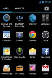 Acer Liquid Z3 - Internet - Internet browsing - Step 2