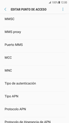 Samsung Galaxy S7 - Android Nougat - Internet - Configurar Internet - Paso 15