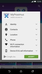 HTC One M9 - Applications - MyProximus - Step 8