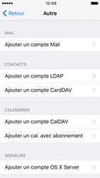Apple iPhone 5s iOS 9 - E-mail - Configuration manuelle - Étape 6
