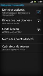 Sony ST25i Xperia U - Internet - activer ou désactiver - Étape 6