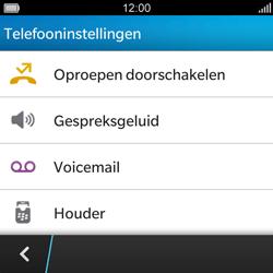 BlackBerry Q5 - Voicemail - Handmatig instellen - Stap 5