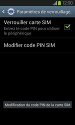 Samsung Galaxy S2 - Sécuriser votre mobile - Personnaliser le code PIN de votre carte SIM - Étape 10