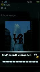 Sony Ericsson U5i Vivaz - MMS - hoe te versturen - Stap 12