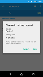 Sony E6653 Xperia Z5 - WiFi and Bluetooth - Setup Bluetooth Pairing - Step 7