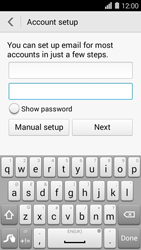 Huawei Ascend Y550 - Email - Manual configuration POP3 with SMTP verification - Step 7