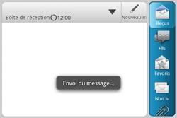 HTC A810e ChaCha - E-mail - envoyer un e-mail - Étape 11