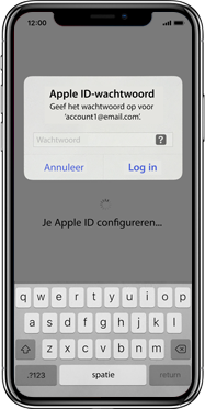 Apple iphone-xs-max-met-ios-13-model-a1921 - Instellingen aanpassen - Hoe gebruik ik de Automatisch inloggen-optie - Stap 12