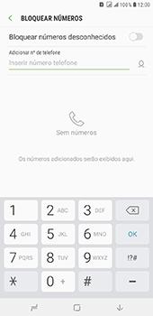 Samsung Galaxy J8 - Chamadas - Como bloquear chamadas de um número específico - Etapa 7