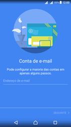 Sony Xperia X Dual SIM (F5122) - Email - Configurar a conta de Email -  7