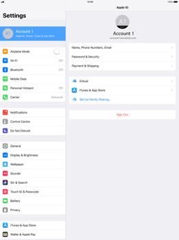 Apple Apple iPad Pro 12.9 - iOS 11 - Device maintenance - Create a backup of your data - Step 7