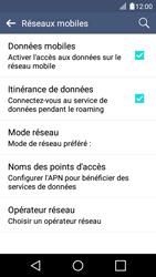LG K4 - Aller plus loin - Désactiver les données à l'étranger - Étape 6