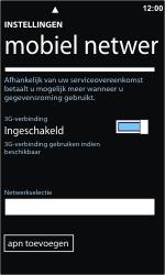 Nokia Lumia 800 - Netwerk - Handmatig netwerk selecteren - Stap 8