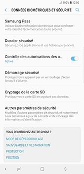 Samsung Galaxy Note 9 - Sécuriser votre mobile - Personnaliser le code PIN de votre carte SIM - Étape 5