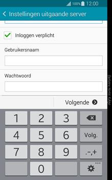 Samsung N915FY Galaxy Note Edge - E-mail - Handmatig instellen - Stap 13