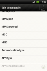 HTC A320e Desire C - MMS - Manual configuration - Step 12