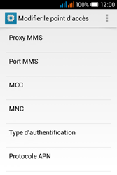 Alcatel OT-4015X Pop C1 - Premiers pas - Configurer l
