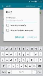 Samsung Galaxy J5 - WiFi - Conectarse a una red WiFi - Paso 7