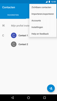 Huawei Google Nexus 6P - Contactgegevens overzetten - delen via Bluetooth - Stap 5