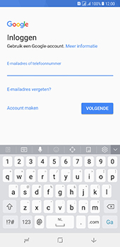 Samsung Galaxy A8 Plus - E-mail - handmatig instellen (gmail) - Stap 10