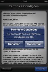Apple iPhone iOS 5 - Primeiros passos - Como ativar seu aparelho - Etapa 21