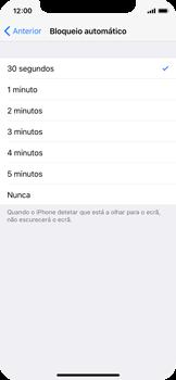 Apple iPhone X - Segurança - Bloqueio automático do ecrã -  6