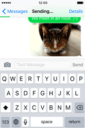 Apple iPhone 4 S iOS 9 - Mms - Sending a picture message - Step 13